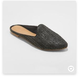 universal thread | pointed toe mules